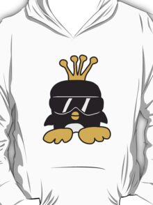Cool Penguin King T-Shirt