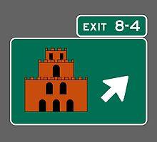 EXIT 8-4 by cudatron