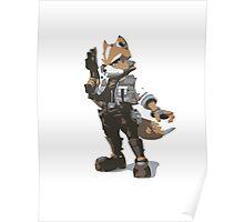 Minimalist Fox from Super Smash Bros. Brawl Poster