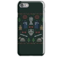 Ugly Doctor/Villain Christmas Sweater iPhone Case/Skin