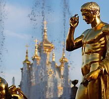 Gold and silver of Peterhof by Kirill Mazanik