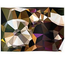 Colorful Geometric Background 2 Poster