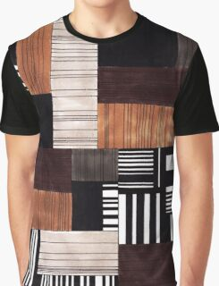 Striped blocks with a hint of sweets Graphic T-Shirt