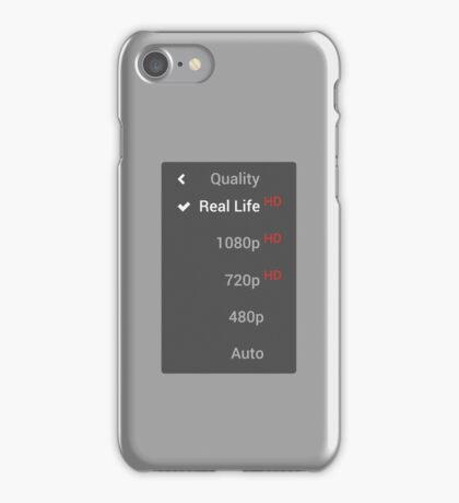 Life Quality Selector iPhone Case/Skin