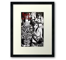 Cthulhu from the Black Lagoon Framed Print