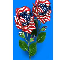 ♥ ˚ • ★ *˚UNIQUELY DESIGNED  U.S. PATRIOTIC ROSE IPHONE CASE♥ ˚ • ★ *˚ by ✿✿ Bonita ✿✿ ђєℓℓσ