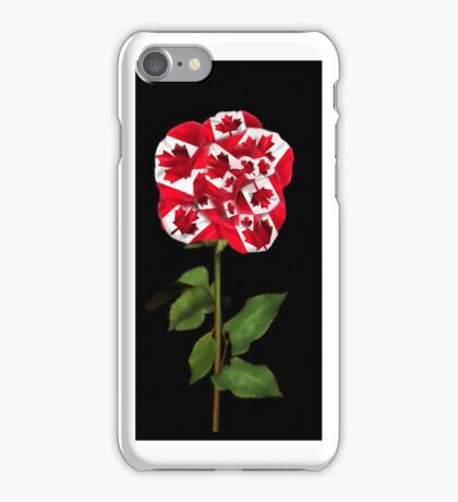 ✿♥‿♥✿CANADIAN PATRIOTIC ROSE IPHONE CASE✿♥‿♥✿ iPhone Case/Skin