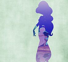 Jasmine - Aladdin - Disney Inspired by still-burning
