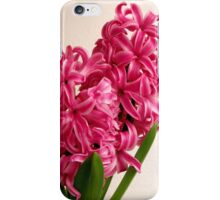Pink Pearl Hyacinth iPhone Case/Skin