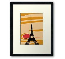 Jupiter and Eiffel Tower Framed Print