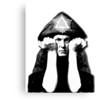 Aleister Crowley Canvas Print