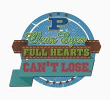 """""""Clear eyes, full heart, can't lose"""" - Friday Night Lights by WitchDesign"""