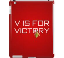 V is for Victory iPad Case/Skin