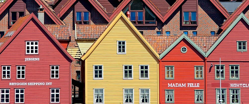 Bergen, Norway by Robert Dettman