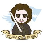 Jon Snow by SaMtRoNiKa