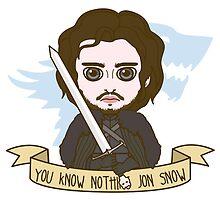 Jon Snow by SaMtRoNiKa