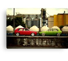 Bumper to Bumper Canvas Print