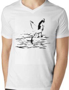 Loch Ness Mini-ster Mens V-Neck T-Shirt