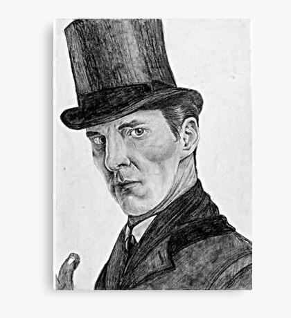 Sherlocked Canvas Print