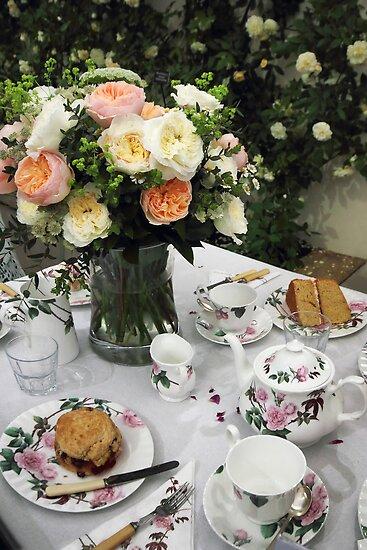 """Tea is Served in the Rose Garden, Madam"" by Irina Chuckowree"