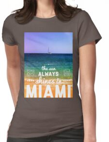 Miami Original Womens Fitted T-Shirt