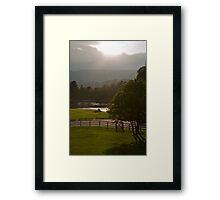 The Ness Framed Print