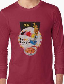 Vintage Fruit loops advertisement Long Sleeve T-Shirt