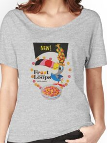 Vintage Fruit loops advertisement Women's Relaxed Fit T-Shirt
