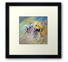 Yellow Triumph Framed Print