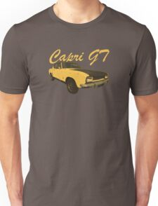 Vintage Aged Look Ford Capri GT Graphic Unisex T-Shirt