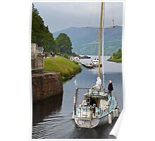 Through the Locks and Lochs Poster
