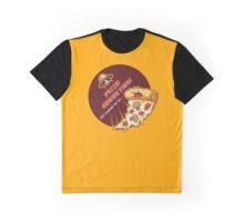 Pizza Abduction Graphic T-Shirt