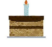 Minecraft Birthday Cake  by Samantha Mercado