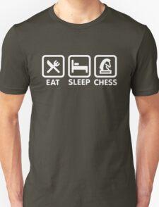 Eat - Sleep - Play chess Unisex T-Shirt