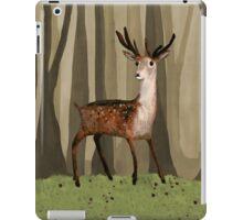 Deer in the Woods iPad Case/Skin