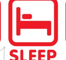 Eat - Sleep - (cards) Game - Poker Sticker