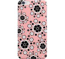 Flower Wheel in Pink iPhone Case/Skin
