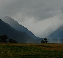 Misty Mountains by Frank Kletschkus