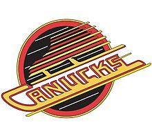 '90s Vancouver Canucks Photographic Print