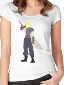 Cloud Strife Women's Fitted Scoop T-Shirt