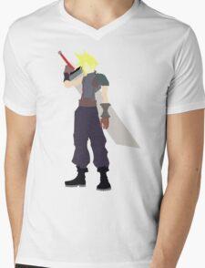 Cloud Strife Mens V-Neck T-Shirt