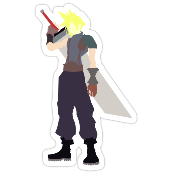 Cloud Strife by Ravravine