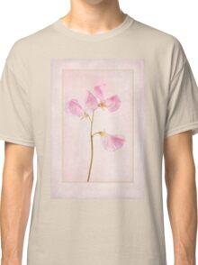 Pink Sweet Pea Classic T-Shirt