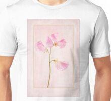 Pink Sweet Pea Unisex T-Shirt