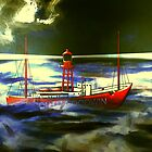 The South Goodwin Light Vessel by Dennis Melling