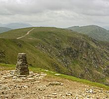 Trig Point On The Old Man by Jamie  Green