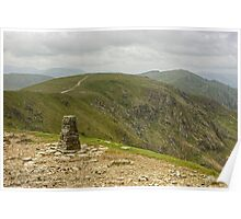 Trig Point On The Old Man Poster
