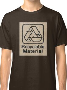 Recyclable Material Classic T-Shirt