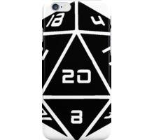 D20 Graphic iPhone Case/Skin