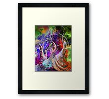 Flamenco Nights Framed Print